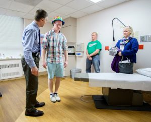 Rapid recovery from serious injury means Chi-High student will graduate on time