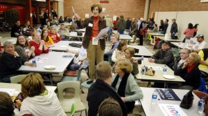 Some insights into the Iowa caucuses