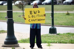Local opponent says solitary confinement causes additional trauma, adds to mental health concerns