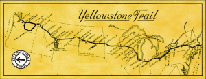 Yellowstone Trail map and photos