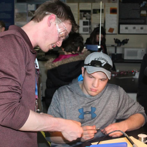 Careers, technologies on display at CVTC's annual Manufacturing Show
